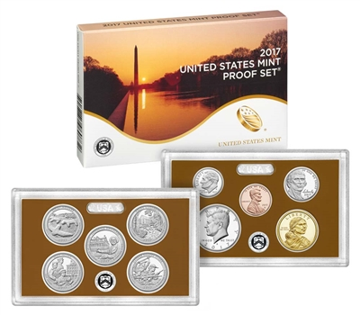 2017 U.S. Mint Clad Proof Set in OGP with CoA