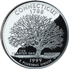 1999 - D Connecticut State Quarter