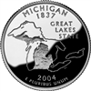 2004 - P Michigan State Quarter