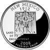 2008 - D New Mexico State Quarter