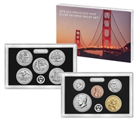 2018 U.S. Mint Reverse Proof 50th Anniversary Set - OGP box & COA