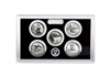 2018 - S Silver Proof National Park Quarter 5-pc. Set No Box or CoA