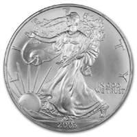 2003 U.S. Silver Eagle - Gem Brilliant Uncirculated
