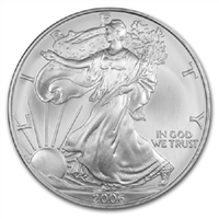 2006 U.S. Silver Eagle - Gem Brilliant Uncirculated