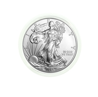 2014 U.S. Silver Eagle - Gem Brilliant Uncirculated in Plastic Air-Tite Holder