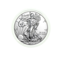 2017 U.S. Silver Eagle - Gem Brilliant Uncirculated in Plastic Air-Tite Holder