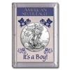 "2018 American 1 oz Silver Eagle in ""It's a Boy"" Holder"