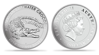 2014 Australian Crocodile One Ounce Silver Coin