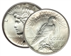 Peace Silver Dollar - our Choice of Date from 1920's