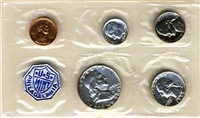 1956 - P U.S. Mint Silver Proof Set - 5 Coin Proof Set