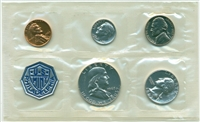 1963 - P U.S. Mint Silver Proof Set - 5 Coin Proof Set