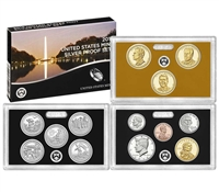 2016 U.S. Mint 13-coin Silver Proof Set - OGP box & COA