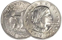 1979 - P Susan B. Anthony Dollar - Single Coin