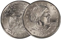 1999 - D Susan B. Anthony Dollar - Single Coin