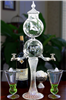 Aquitaine 2 Spout Glass Absinthe Fountain Set