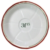 Absinthe Saucer (Sous Verre) Red 3F15