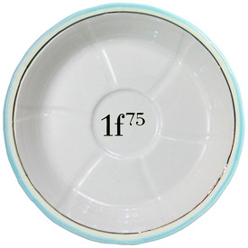 Absinthe Saucer (Sous Verre) Light Blue