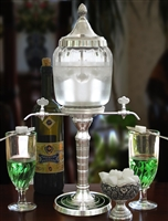 Bistro Petite Absinthe Fountain Set With Glasses & Spoons