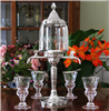 Bistro Absinthe Fountain Set With Glasses & Spoons
