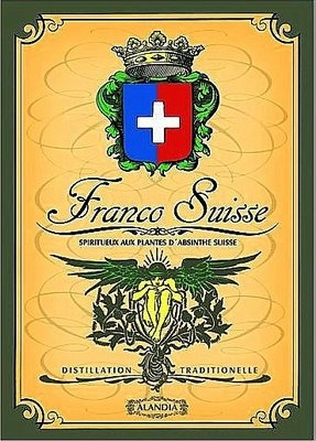 Absinthe Poster Franco-Suisse