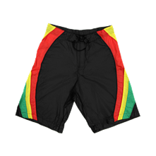 Rasta Stripe Board Shorts
