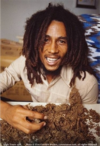 High Times - Bob Marley 1976 Poster