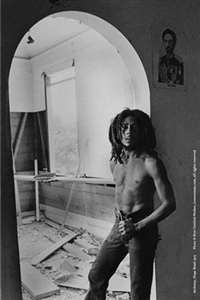 Archway At Hope Road - Bob Marley Poster