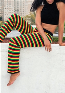 Rasta Knitted Pants