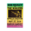 Bob Marley at the Apollo Theatre 1979 Poster