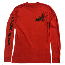 Riddim Driven Logo Long Sleeve Tee