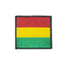 Ethiopia Woven Patch