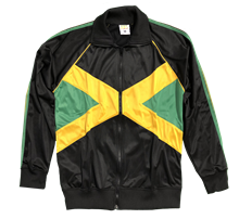 Jamaica Flag Track Jacket