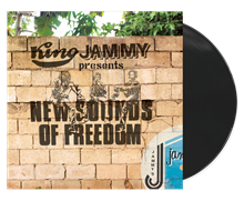 King Jammy Presents New Sounds of Freedom  LP