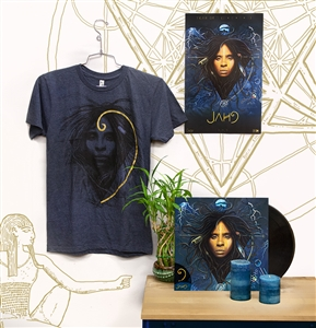 Jah9 Gathering: 9 Vinyl LP + Official 9 Shirt + Bonus Gift