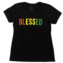 Riddim Driven Womens Blessed Tee