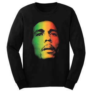 Bob Marley Face Long-Sleeve