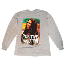 Bob Marley Positive Vibration Long Sleeve