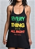 Every Little Thing Twist Back Tank Dress