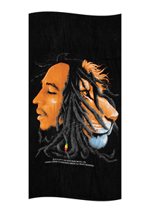 Bob Marley Profile Towel