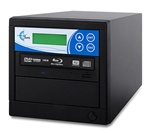 Blu-ray 1 Copy BD DVD CD Duplicator - Features 12x Drives-Includes 500GB HDD