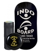 Indo Board Rocker Board Training Package (BLACK) w/ Roller & Cushion