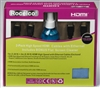 Rocelco 2-Pack High Speed HDMI Cables With Ethernet And Bonus Flat Screen Cleaner