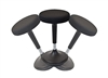 Uncaged Ergonomics Wobble Stool - BLACK