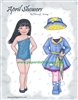 """April Showers"" Paper Doll"