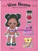 """Bitsy"" Wee Bean Magnetic Doll Set"