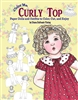 """Color Me Curly Top"" Paper Doll Coloring Book"