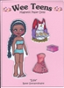 """Edie"" Wee Teen Magnetic Doll Set"