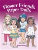 """Flower Friends Paper Dolls""  Book"