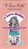 """I Love Dolls"" Magnet"