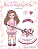 """Love & Dolly Hugs"" Paper Doll"